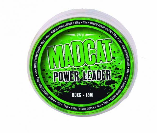 MADCAT POWER LEADER 15M 1.00MM 100KG 222LBS BROWN