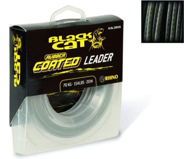 Black Cat Rubber coated Leader