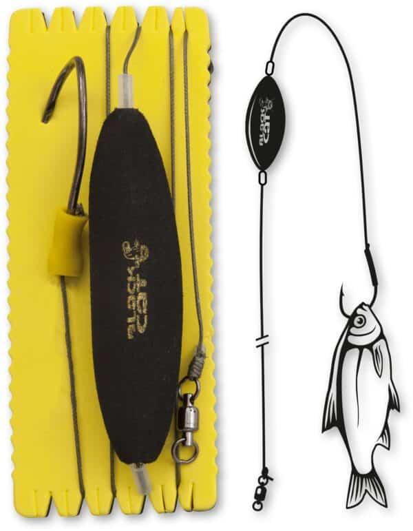 Black Cat U-Float Rig Single Hook XL